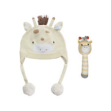 Zubels Giraffe Hat and Rattle Set - Chase Business Banking