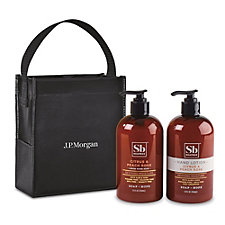 Soapbox Cleanse and Soothe Gift Set - Citrus and Peach Rose - J.P. Morgan