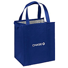 Therm-O Tote Reusable Tote Bag -13 in. x 10 in. x 15 in. - Chase