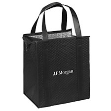 Therm-O Tote Reusable Tote Bag -13 in. x 10 in. x 15 in. - J.P. Morgan
