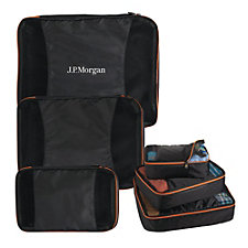 Bright Travels Packing Cubes - Set of 3 - Ships in 48 Hours - J.P. Morgan