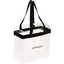 Game Day Stadium Tote - 12 in. x 12 in. - Ships in 48 Hours - J.P. Morgan