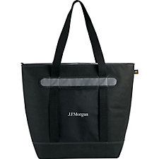 Convertible Cooler Tote - 18 in. H x 8 in. W x 22 in. L - Ships in 48 Hours - J.P. Morgan