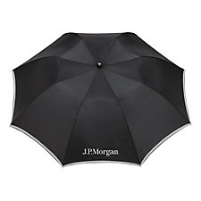 Auto Folding Safety Umbrella - 42 in. - Ships in 48 Hours - J.P. Morgan