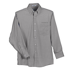 Eagle No-Iron Pinpoint Oxford Shirt - Chase