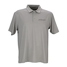 Vansport Pro Tonal Micro Stripe Polo Shirt - J.P. Morgan