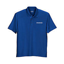 Vansport Omega Solid Mesh Tech Polo Shirt - Chase