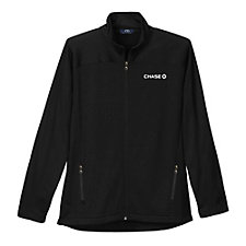 Brushed Back Micro-Fleece Full-Zip Jacket - Chase