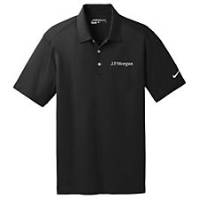 Nike Golf Dri-Fit Vertical Mesh Polo Shirt - J.P. Morgan