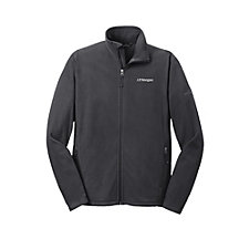Eddie Bauer Full-Zip Microfleece Jacket - J.P. Morgan