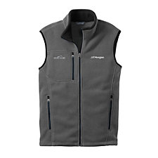 Eddie Bauer Fleece Vest - J.P. Morgan