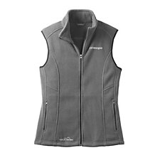 Eddie Bauer Ladies' Fleece Vest - J.P. Morgan