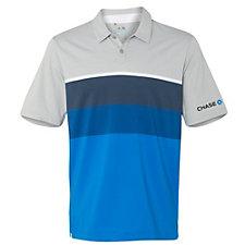 Adidas Golf Climacool Stripe Polo Shirt - Chase