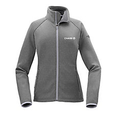 The North Face Ladies Canyon Flats Fleece Jacket - Chase