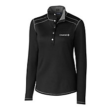Cutter & Buck Ladies Evergreen Reversible Pullover - Chase