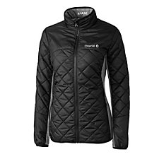 Cutter & Buck Ladies WeatherTec Sandpoint Quilted Jacket - Chase