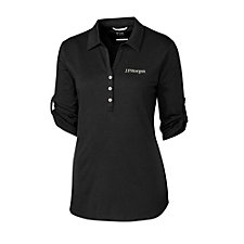 Cutter & Buck Ladies Thrive Polo Shirt - J.P. Morgan
