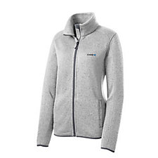 Port Authority Ladies Sweater Fleece Jacket - Chase