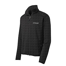 Port Authority Sweater Fleece Jacket - J.P. Morgan