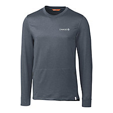 Cutter and Buck Jackson Crewneck Long Sleeve Shirt - Chase