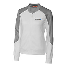 Cutter and Buck Ladies Pop Fly Full Zip Fleece - Chase