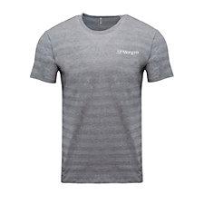Threadfast Apparel Invisible Stripe Short-Sleeve T-Shirt - J.P. Morgan
