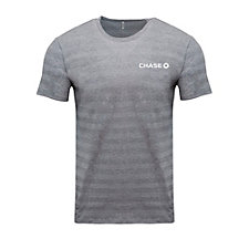 Threadfast Apparel Invisible Stripe Short-Sleeve T-Shirt - Chase