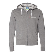 Unisex Full-Zip Hooded Sweatshirt - Women on the Move