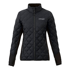 Ladies Rougemont Hybrid Jacket - J.P. Morgan