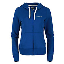 Ladies Paddlecreek Fleece Full-Zip Hoodie - Chase