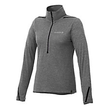 Ladies Deco Eco Knit Half Zip Pullover - Chase