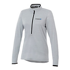 Ladies Mather Knit Half Zip Pullover - Chase