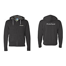 Independent Trading Co. Full-Zip Hooded Sweatshirt - Cyber Security
