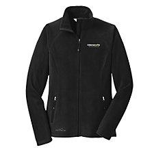 Eddie Bauer Ladies Full-Zip Microfleece Jacket - Cyber Security