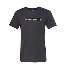 Canvas Triblend Short Sleeve T-Shirt - Cyber Security