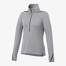 Ladies DEGE Eco Knit Half Zip Pullover - SMF
