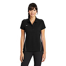 Ladies Nike Dri-FIT Sport Swoosh Pique Polo Shirt - DA Hackathon Spring 2021