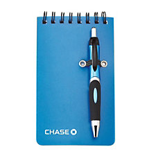 Mini Helix Jotter & Pen - 3 in. x 5 in. (LowMin) - Chase