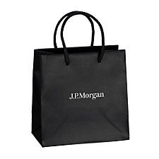 Dublin Matte EuroTote Bag with Tissue Paper - (LowMin) - J.P. Morgan