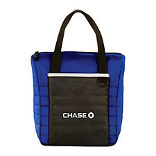 Quilted 12-Can Lunch Cooler (1PC) - Chase