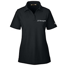 Under Armour Ladies Corporate Performance Polo Shirt - J.P. Morgan