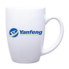 Contour Ceramic Mug - 14 oz. - Yanfeng