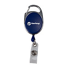 Retractable Badge Reel with Carabiner - Yanfeng