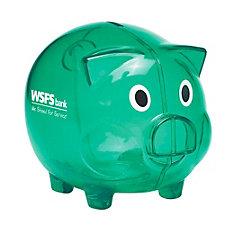 Plastic Piggy Bank - WSFS