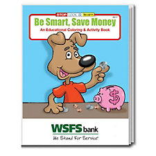 Be Smart Save Money Coloring and Activity Book - WSFS