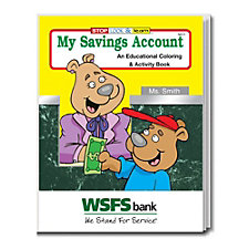 My Savings Account Coloring and Activity Book - WSFS