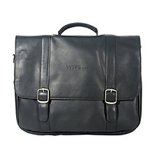 Vaqueta Leather Deluxe Laptop Briefcase - WSFS
