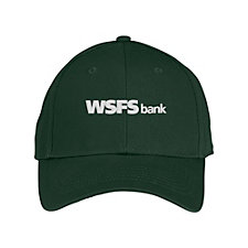 Solid Constructed Twill Hat - WSFS