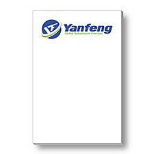 BIC Adhesive Notepads - 2 in. x 3 in. - 25 Sheets - Yanfeng