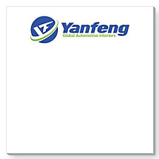BIC Ecolutions Adhesive Notepad - 3 in. x 3 in. - 25 Sheets - Yanfeng